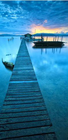 Blue Jetty, Australia | See more Amazing Snapz
