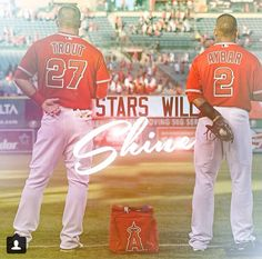 Wohooo! Mike Trout is no longer the only All-Star! Aybar, you have worked so hard! I just wish Garrett Richards went!   My All-Stars Boys...