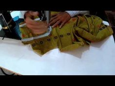 Stand collar suit stitching - YouTube