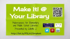 """""""Make It @ Your Library"""" Presentation for PA School Librarians Association 2015 Annual Conference 