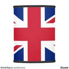 British flag lamp shade