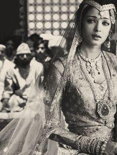 Beautiful Bride.  Aishwarya Rai