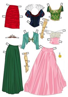 1* 1500 free paper dolls at artist Arielle Gabriel's The International Paper…