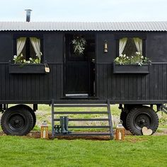 A Shepherd's Hut in Oxfordshire
