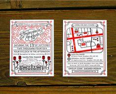 Wedding Invites (Francesca & Kevin) on Behance