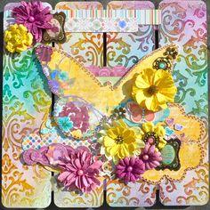 Butterfly Wall Art - Scrapbook.com