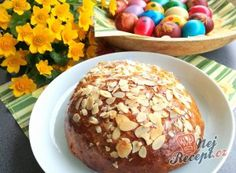Nejlepší recepty na Velikonoční mazanec – suroviny a postup | NejRecept.cz Thing 1, Doughnut, Muffin, Food And Drink, Low Carb, Drinks, Breakfast, Kitchen Stuff, Cherry