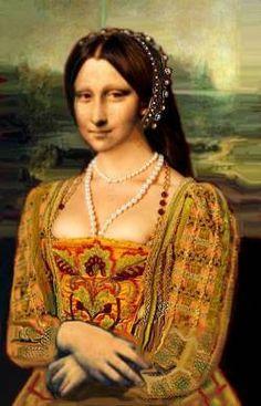 Renaissance mona  by Flor