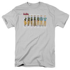 """Checkout our #LicensedGear products FREE SHIPPING + 10% OFF Coupon Code """"Official"""" Archie Comics / Archie Timeline - Short Sleeve Adult 18 / 1 - Archie Comics / Archie Timeline - Short Sleeve Adult 18 / 1 - Price: $29.99. Buy now at https://officiallylicensedgear.com/archie-comics-archie-timeline-short-sleeve-adult-18-1"""