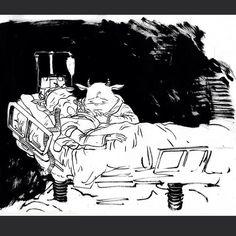 Daniel Warren Johnson Comic creator, illustrator, friend, Christian, husband. Creator of the webcomic Space-Mullet. Follow on twitter @danielwarrenart www.space-mullet.com