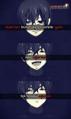 Do you laugh? Your Name Anime, Alone Art, Sad Anime Quotes, Writing Art, Kaneki, Black Butler, Itachi, Tokyo Ghoul, Webtoon