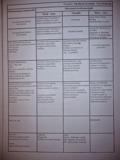 Heti terv - Mónika Kampf - Picasa Webalbumok