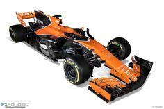 2017 McLaren MCL32 F1 Race Car