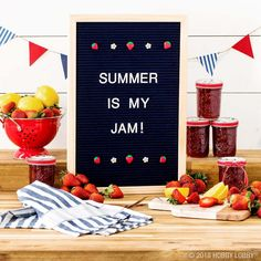 1603 best diy home decor images on pinterest diy ideas for home welcome summer with a sweet letterboard message solutioingenieria Image collections