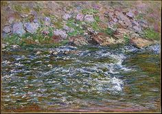 Rapids on the Petite Creuse at Fresselines  Claude Monet (French, Paris 1840–1926 Giverny)