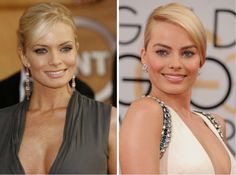 Jaime Pressly and Margot Robbie - 30celebrities soincredibly similar that they look like they were separated atbirth