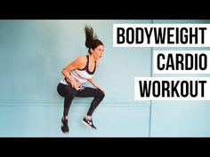 Quick, Intense Bodyweight Cardio Workout (10 Minutes) - YouTube