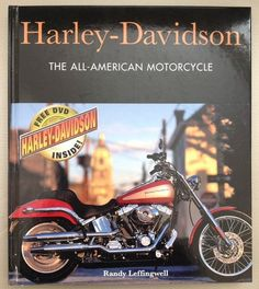 Harley Davidson The All American Motorcycle Book DVD Randy Leffingwell 2006 | eBay