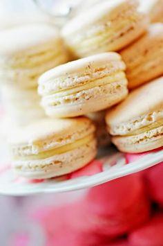 Zebra Christening Party :: Macarons by Petites Bouchees & Custom Signs designed by Posh Pixels Design Studio LLC