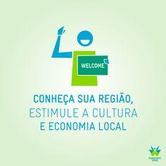 Se preparando para o final de semana? Que tal viajar para cidades próximas à sua? Assim você conhece mais a cultura da sua região e estimula a economia local.  #EuCuido #PassaporteVerde2014
