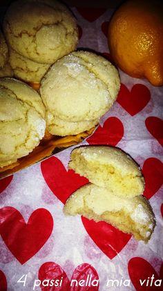 4 passi nella mia vita: Dolci: Biscotti morbidi al limone