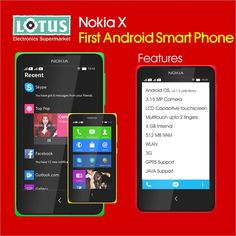Nokia launches it's first android smartphone. Nokia X, Nokia XL, Nokia X+. What's your take ?