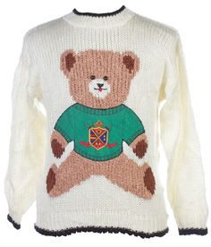 Cute bear Christmas sweater from TheSweaterStore.com