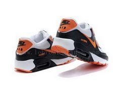 wholesale dealer bf3db 3415a orange black white nike shoes - Google Search