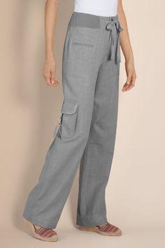 Petites Weekend Linen Pants