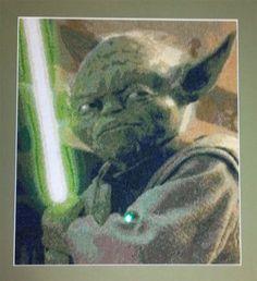 Yoda cross stitch by couchjones