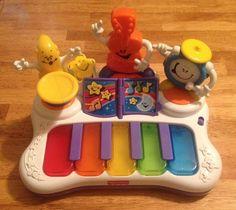 Fisher-Price Little Superstar Jammin' Band Piano - Cute! #FisherPrice