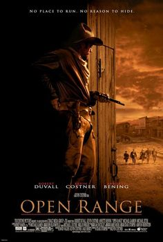 Open Range. 2003 Western film directed and co-produced by Kevin Costner. Starring Robert Duvall and Costner, with Annette Bening and Michael Gambon appearing in supporting roles.