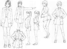 Clothing, Folds and Movement Sheet 11...via deviantart
