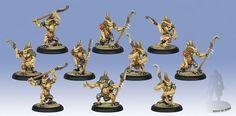 Hordes Minions Bog Trog Ambushers Unit (10) Box WEB