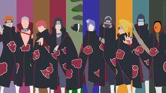 The Akatsuki | Naruto Shippuden | Minimalist by Sephiroth508