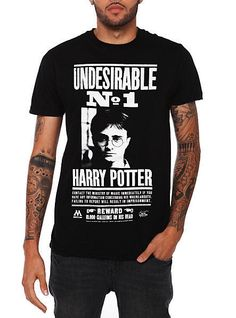 Officially Harry Potter Undesirable No. 1 T-Shirt #HarryPotter #GraphicTee