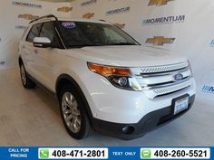2013 Ford Explorer Limited 96k miles Call for Price 96030 miles 408-471-2801 Transmission: Automatic  #Ford #Explorer #used #cars #MomentumChevrolet #SanJose #CA #tapcars