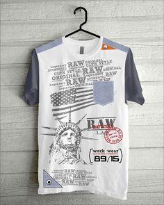 GALERI ILLUSTRATOR SURABAYA Surabaya, Work Wear, Illustrator, The Originals, Mens Tops, T Shirt, How To Wear, Design, Style
