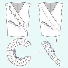 Amazing Sewing Patterns Clone Your Clothes Ideas. Enchanting Sewing Patterns Clone Your Clothes Ideas. Easy Sewing Patterns, Sewing Tutorials, Clothing Patterns, Dress Patterns, Sewing Projects, Dress Tutorials, Coat Patterns, Sewing Collars, Bodice Pattern