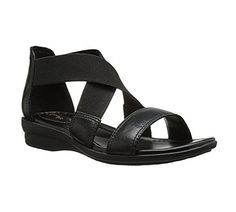 Clarks Womens Reid Solana Dress Sandal Black 8 M US >>> See this great product.