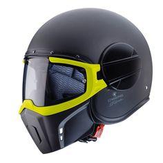 Caberg Ghost o capacete de quatro configurações