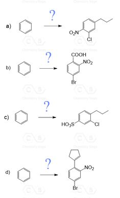47 Best Electrophilic aromatic substitution practice