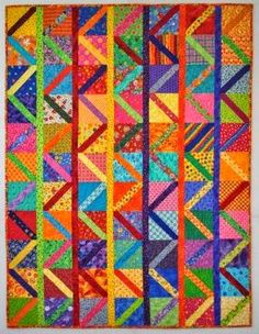 Double Nickel Quilts: To and Fro quilt pattern