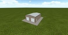 Cool 3D #marketing http://ift.tt/2DS4q4I #barn #workshop #greenhouse #garage #roofing #DIY