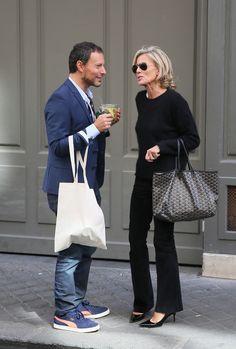 Claire Chazal : Heureusement, elle a pu compter sur Marc-Olivier Fogiel avant ses adieux télévisés (photos)
