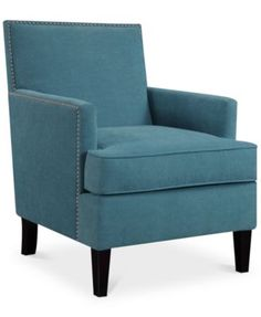 Kendall Fabric Accent Chair, Quick Ship | macys.com