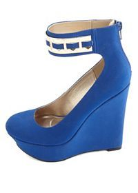 The Trendiest Lace-Up, Platform & Peep Toe Wedges: Charlotte Russe