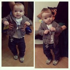 Boys Fashion... My baby cousin is such a stud!