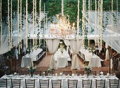 #lighting  Photography: Bryce Covey Photography - brycecoveyphotography.com  Read More: http://www.stylemepretty.com/2014/09/18/destination-glam-haiku-mill-wedding-by-bryce-covey-photography/