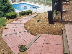 Hanover® Prest® Pavers make the perfect addition to any home or landscape. They are ideal for sidewalks, patios, garden paths and pool decks. A paved area can blend with or contrast any surrounding area depending on the desired effect. Available in many colors and sizes, they provide the ability to create many interesting paving designs.